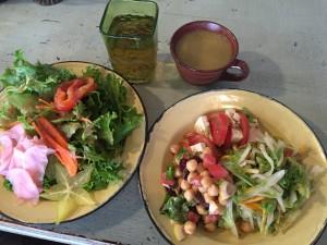 ベジタリアンサラダ